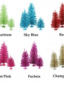 Colorful Mini 3-Christmas Tree Set For Christmas 2014