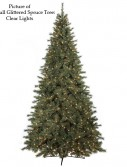 Full Glittered Spruce Christmas Tree For Christmas 2014
