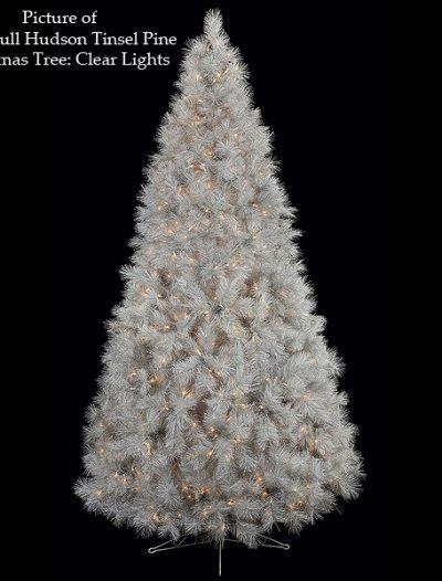 Hudson Tinsel Pine Christmas Tree For Christmas 2014