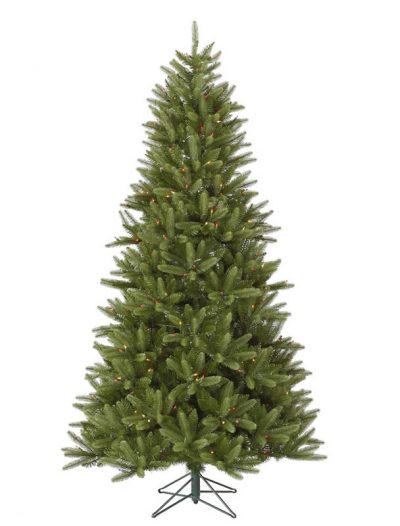 Vickerman A123577LED 7.5 ft. X 49 in. Bradford Pine LED 550MU (Christmas Tree)