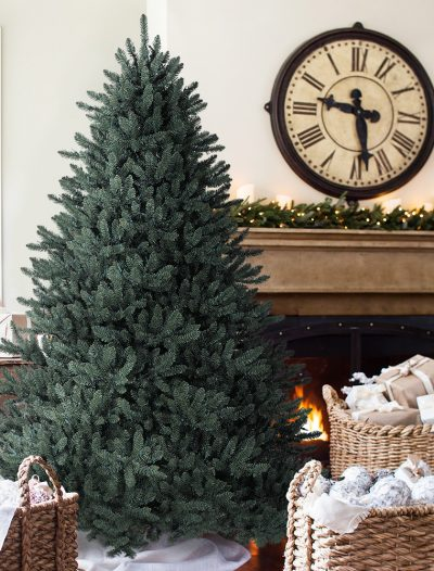 6.5' Blue Spruce Unlit Artificial Christmas Tree (Christmas Tree)