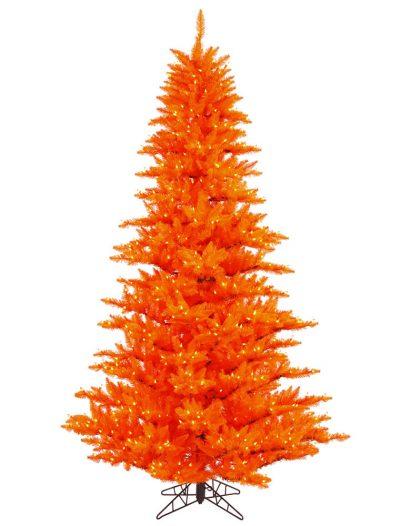 Orange Fir Christmas Tree For Christmas 2014