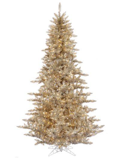 Champagne Christmas Tree For Christmas 2014