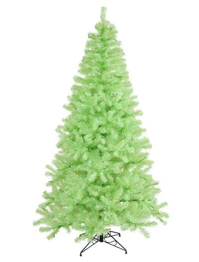 Chartreuse Christmas Tree For Christmas 2014