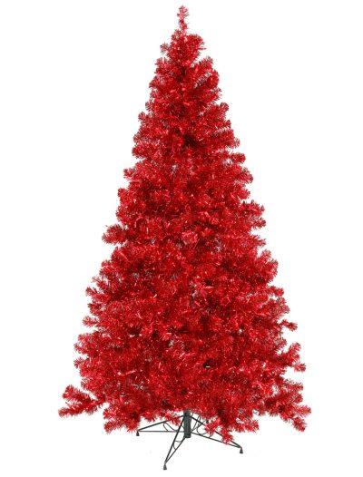 Red Christmas Tree For Christmas 2014