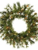 Vickerman A801831 30 Prelit Mixed Country Wreath 70CL (Christmas Tree)