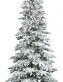 Vickerman 7.5 ft. Flocked Slim Utica Fir Dura-Lit Christmas Tree (Christmas Tree)