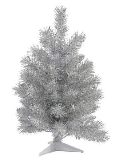 Artificial Silver White Pine Christmas Tree For Christmas 2014