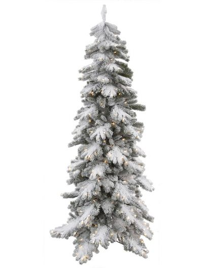 Artificial Vail Pine Flocked Christmas Tree For Christmas 2014