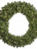 "Vickerman 27591 - 30"" Grand Teton Wreath 50WmWhtLED (G125631LED) 30 Inch Christmas Wreath (Christmas Tree)"