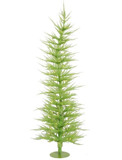 Chartreuse Laser Christmas Tree For Christmas 2014