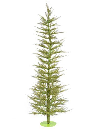 Light Green Laser Christmas Tree For Christmas 2014