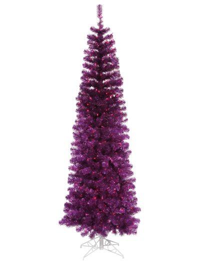 Purple Pencil Christmas Tree For Christmas 2014