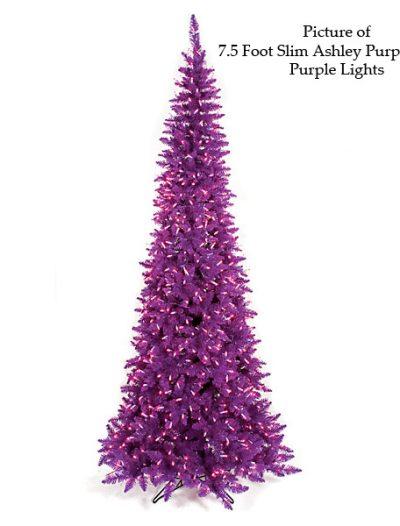 Ashley Purple Christmas Tree For Christmas 2014