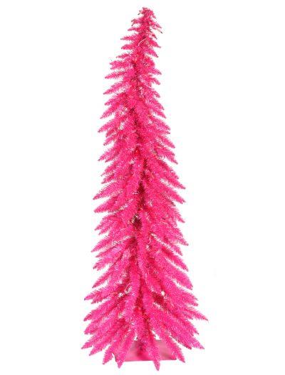 Pink Whimsical Christmas Tree For Christmas 2014