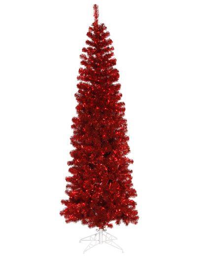 Red Pencil Christmas Tree For Christmas 2014