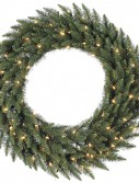 "Vickerman 17288 - 42"" Camdon Fir Wreath 90Led Frost WmWht (A861043LED) 36 42 Inch Christmas Wreath (Christmas Tree)"
