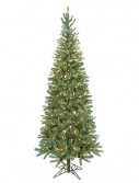 7.5 foot Slim Norway Spruce Christmas Tree: Clear Lights For Christmas 2014