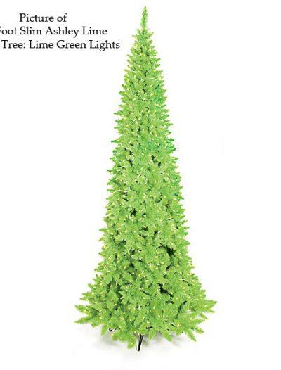 Ashley Lime Green Christmas Tree For Christmas 2014