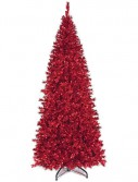 Slim Crimson Christmas Tree For Christmas 2014