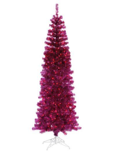 Fuchsia Pencil Christmas Tree For Christmas 2014