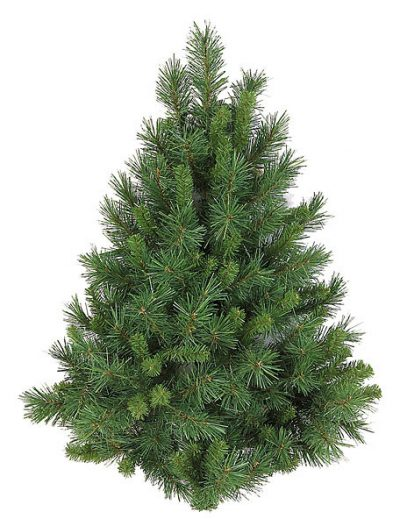 3 foot Mixed Pine Flat Back Christmas Tree For Christmas 2014