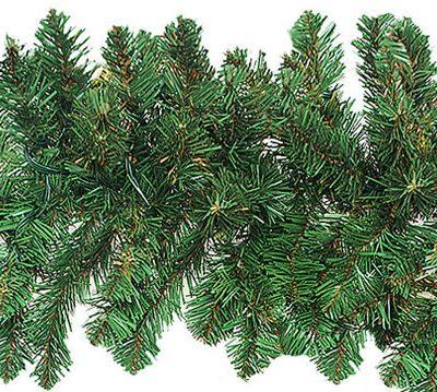 50 Foot x 12 Inch Unlit Artificial Christmas Garland