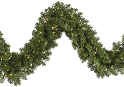 50 Foot x 14 Inch Dura-Lit Artificial Christmas Garland