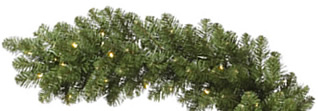 50 Foot x 14 Inch LED Artificial Christmas Garland