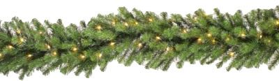 Vickerman 9 ft. Douglas Garland - 400 Clear Lights (Christmas Tree)