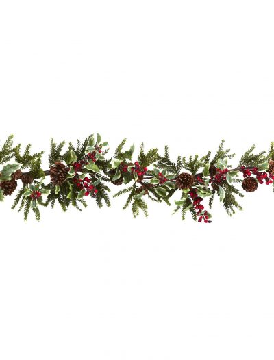 54 inch Artificial Holly Berry Garland For Christmas 2014