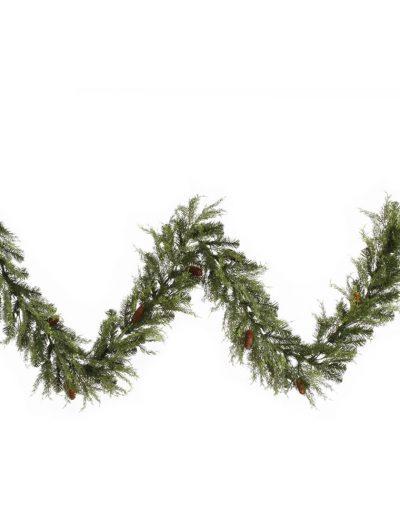 9 foot Cedar Pine Garland For Christmas 2014