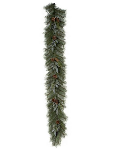 6 Foot Mixed Pine Garland: Set of (2) For Christmas 2014