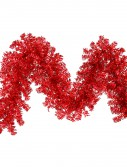9 foot Red Wide Cut Garland For Christmas 2014