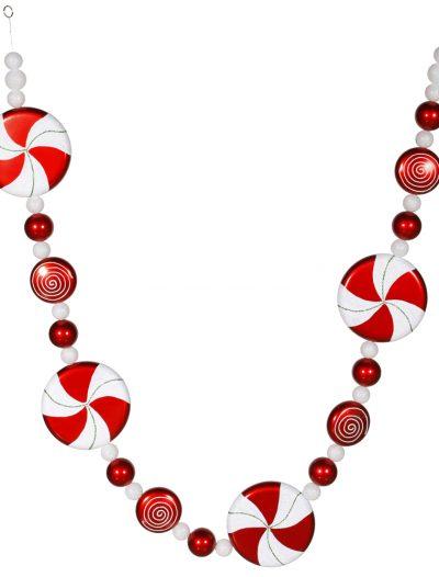 6 foot Pepperment Garland For Christmas 2014