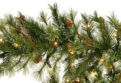 Vickerman A801712 9 x 12 Mixed Country Pine Garland200T (Christmas Tree)