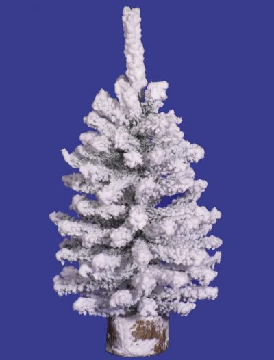 Artificial Flocked Mini Pine Christmas Tree For Christmas 2014