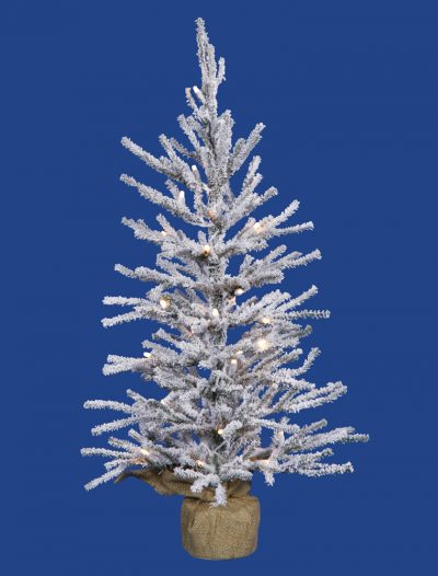 Flocked Angel Pine Christmas Tree For Christmas 2014