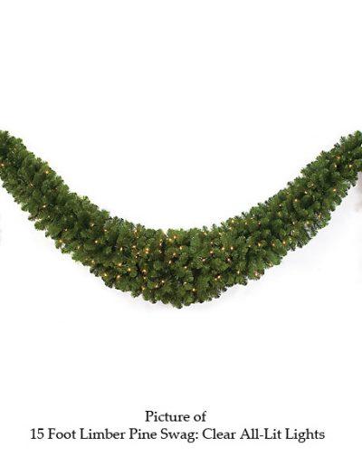 15 foot Limber Pine Swag For Christmas 2014