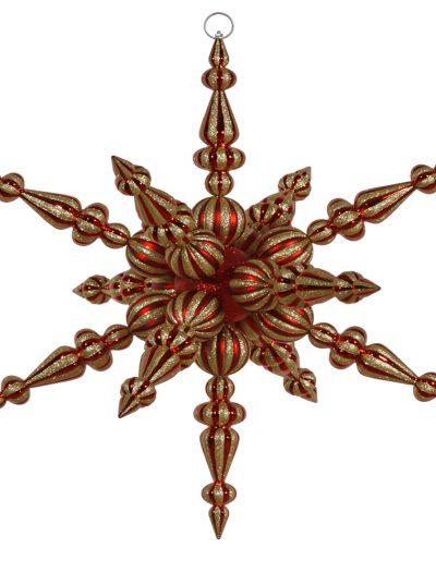 30 inch Radical Snowflake Ornament For Christmas 2014