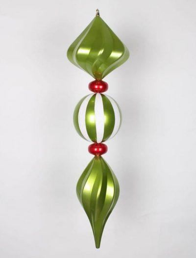 39 inch Jumbo Finial Christmas Finial Ornament For Christmas 2014