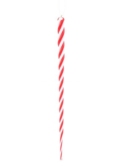 10 inch Artificial Christmas Icicle Ornament (set of 6) For Christmas 2014