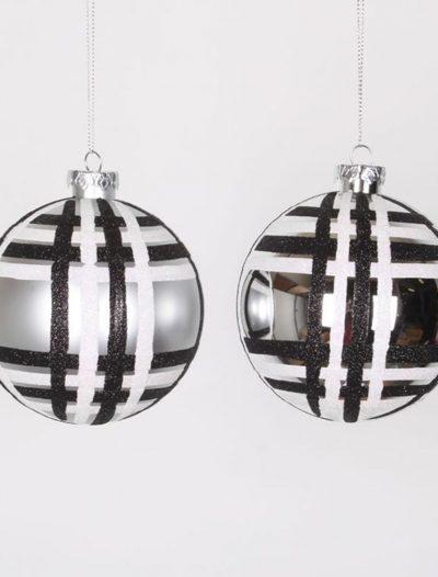 4 inch Glitter Christmas Ball Ornament For Christmas 2014