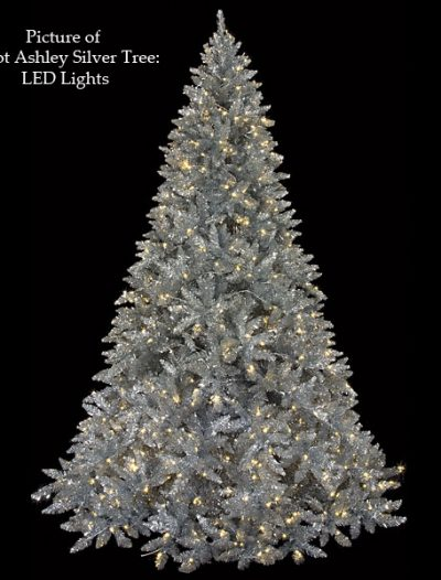 Ashley Silver Christmas Tree For Christmas 2014