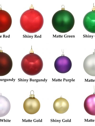 10 inch UV Resistant Ball Ornament For Christmas 2014