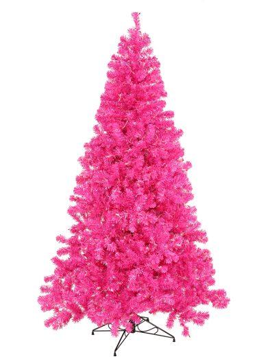 Hot Pink Christmas Tree For Christmas 2014